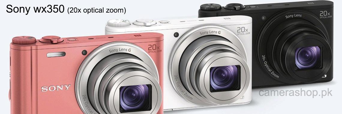 Sony Cybershot WX350