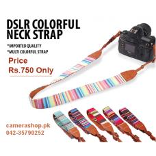 DSLR Camera Color Neck Strap